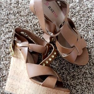 Just Fab Summer Wedges